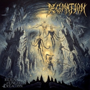 "Cover art for ""Reign of Ungodly Creation"""