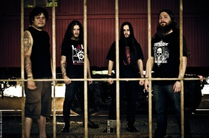 bloody violence band photo